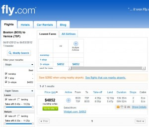 Save $2882 by Using Nearby Airports