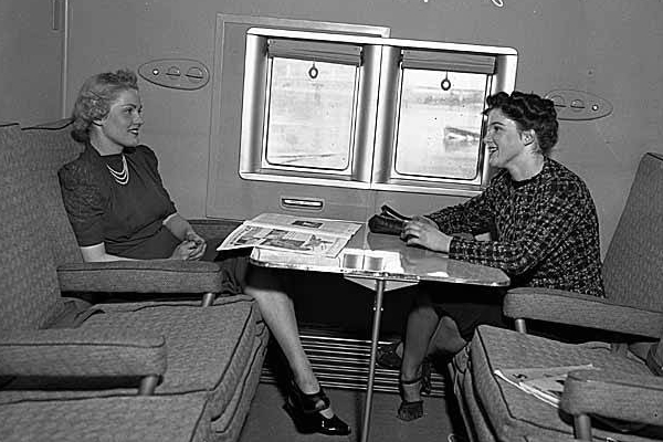 Boeing Clipper Sea Plane Cabin 1939