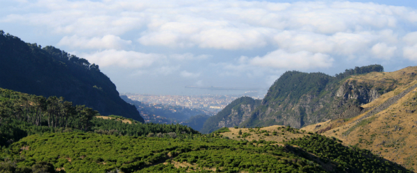 A fine view of Funchal in the distance from Pico Ruivo - Photo Copyright Navjot Singh
