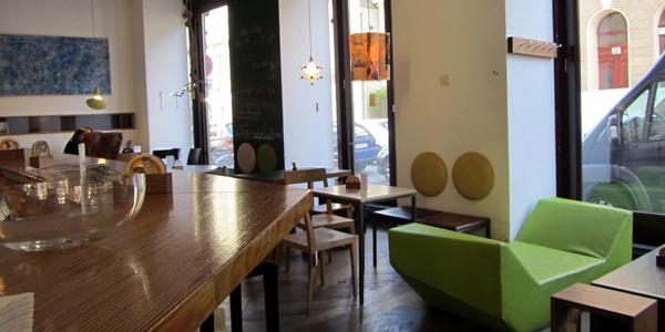 A Modern Cafe in Vienna