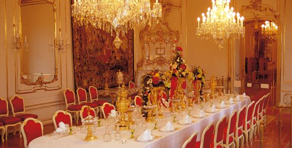 Royal Dining Room Schonbrunn