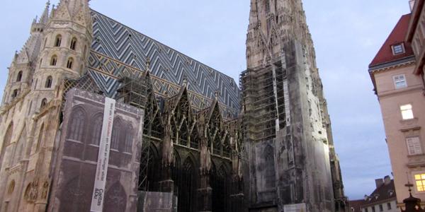 Restoration Work on St. Stephen's Cathedral