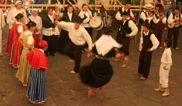 Traditional festas are very popular in Madeira