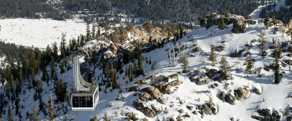 Cable Car Lake Tahoe