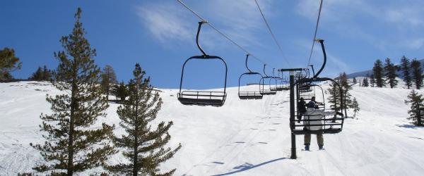 Chair Lift Lake Tahoe