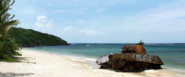 Old Tank on Culebra Beach
