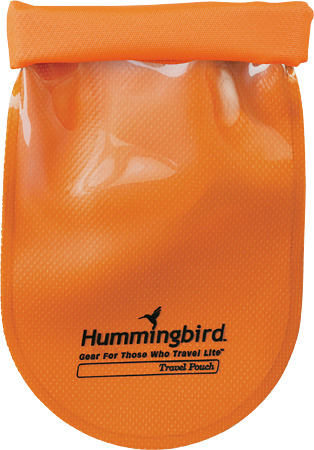 hummingbird travel pouch orange Stocking Stuffer Ideas: 5 Travel Gear Essentials