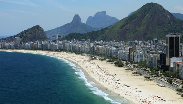 Copacabana Beach, Rio De Janeiro