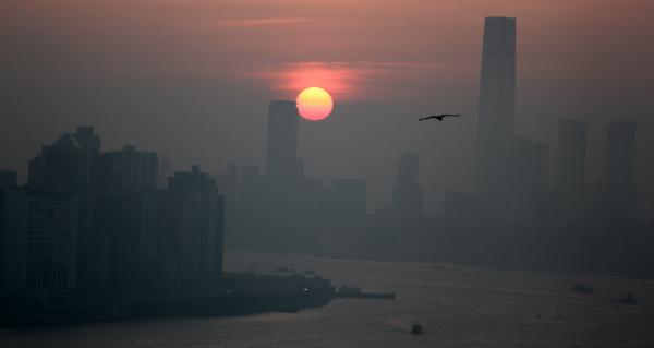 Hong Kong as seen from the Lion Rock (Navjot Singh)
