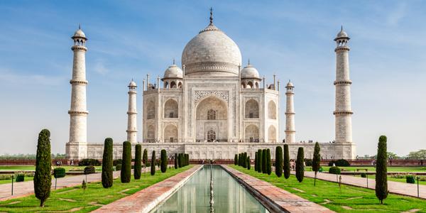 Taj Mahal in India (Shutterstock.com)
