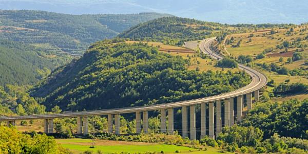 Scenic Gran Sasso Freeway