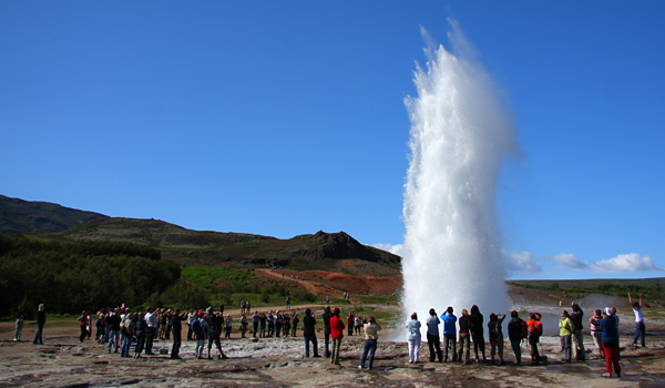 GreatGeyser Iceland: The Elvin Queen at the Top of the World