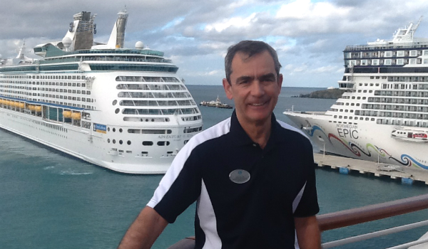 David Wishart at the Port