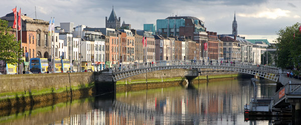 River Liffey in Dublin Featured (Shutterstock.com)