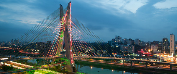 Octavio Frias de Oliveira Bridge Featured