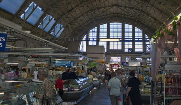 Riga Latvia Central Market (Shutterstock.com)