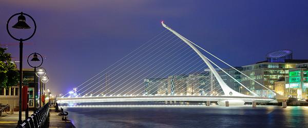 Samuel Beckett Bridge, Dublin Featured (Shutterstock.com)