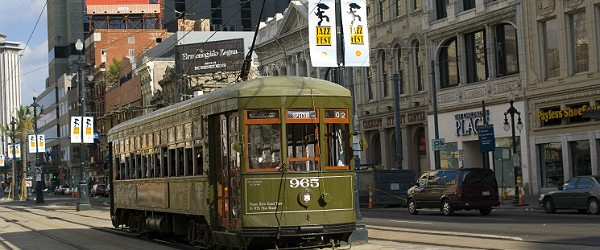 Canal Street Trolley, New Orleans (Shutterstock.com)