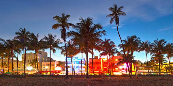 MiamiBeachatSunset