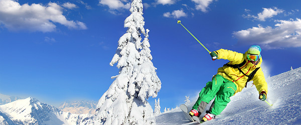 Downhill Skiing Featured (Shutterstock.com)