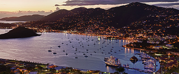 Charlotte Amalie Harbour, St Thomas Featured (Shutterstock.com)