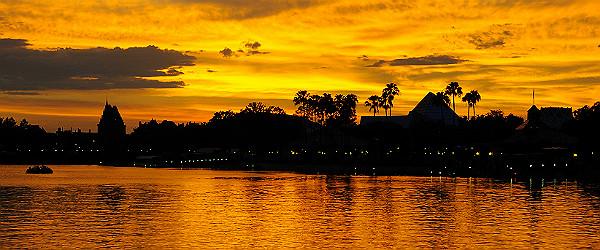 Sunset in Orlando (Shutterstock.com)