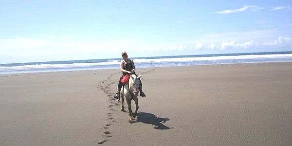 Horseback Riding on Beach (Anna Tabakh)