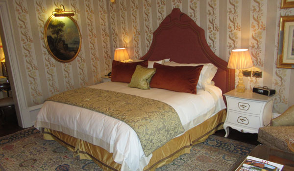 Gritti Palace Bedroom