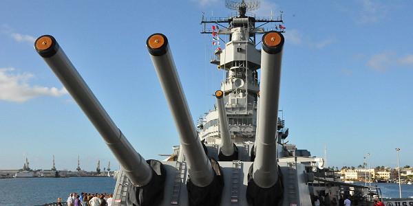 USS Missouri - Mighty Mo (Shutterstock.com)