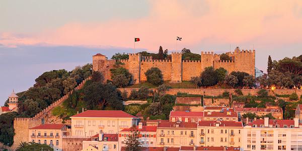 Castle Sao Jorge in Lisbon (Shutterstock.com)