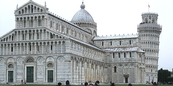 Pisa Cathedral and the Leaning Tower of Pisa (Natasha Blair)