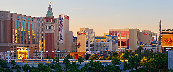 Las Vegas at Sunrise Featured (Shutterstock.com)