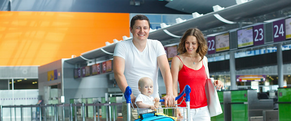 Family at Airport Featured (Shutterstock.com)