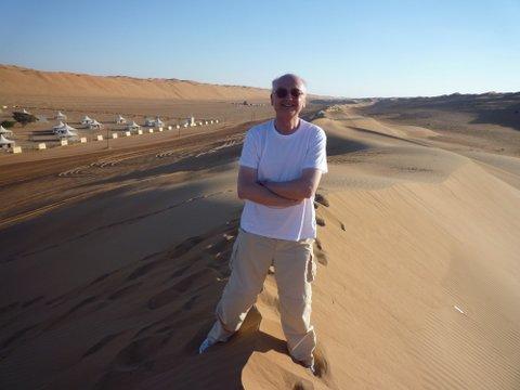 Enjoying the Desert (Godfrey Hall)