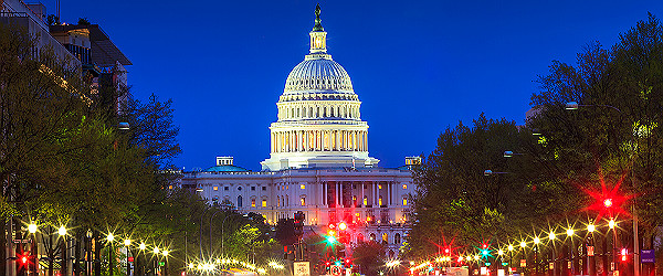 U.S. Capitol in Washington DC Featured