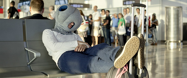 Ostrich Pillow by Kawamura–Ganjavian (Studio Banana THiNGS)