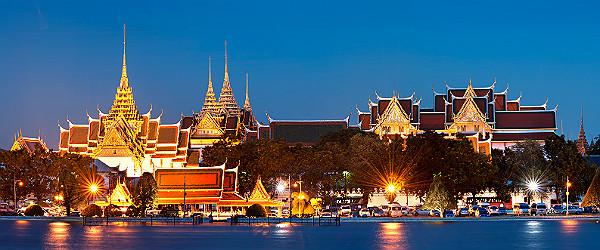 Grand Palace at Night, Bangkok Featured (Shutterstock.com)