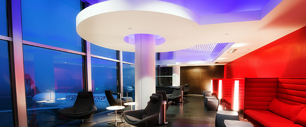 Virgin America LOFT at LAX Featured