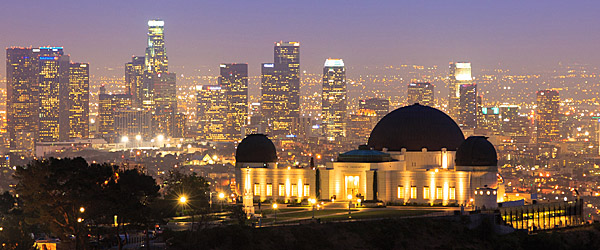 Griffith Observatory with Los Angeles Skyline (Shutterstock.com)