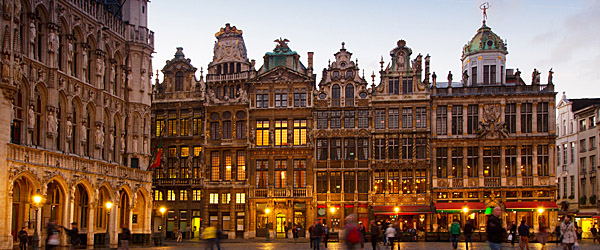 Grote Markt Town Square, Brussels (Shutterstock.com)