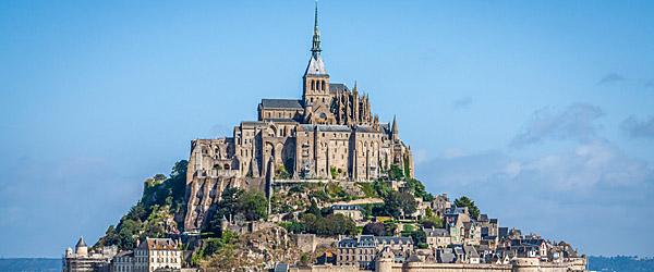 Mont Saint-Michel, Normandy Featured (Shutterstock.com)