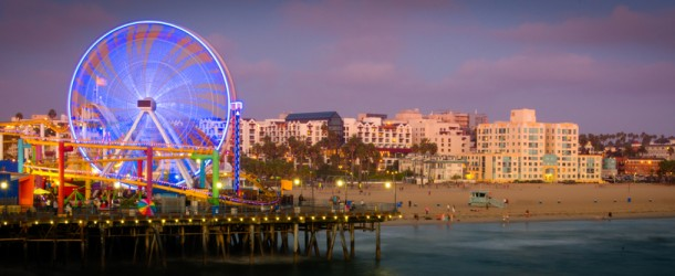 Santa Monica Pier, Los Angeles Featured (Shutterstock.com)
