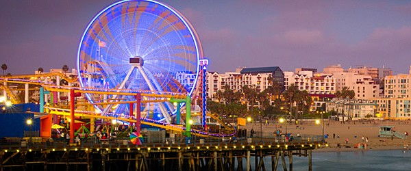 Santa Monica Pier, Los Angeles Featured (Shutterstock.com)