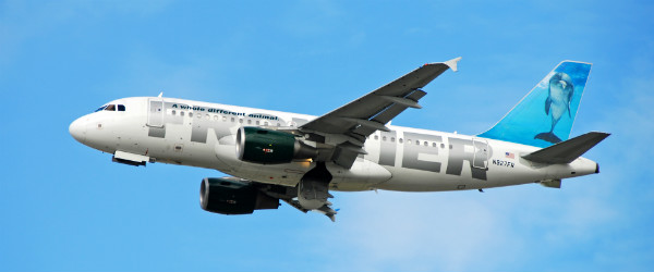 Frontier Airlines Airbus A-319 Featured (Shutterstock.com)