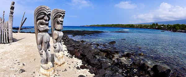 Place of Refuge, Kona, Hawaii (Shutterstock.com)