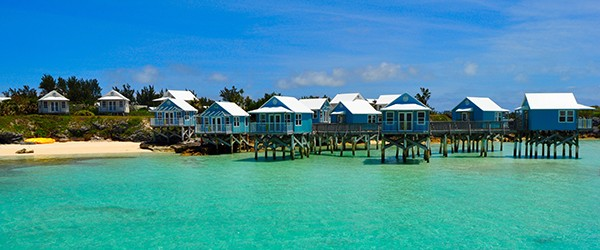 Blue Houses, Bermuda Featured (Shutterstock.com)