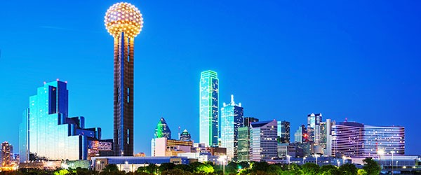 Downtown Dallas at Night Featured (Shutterstock.com)