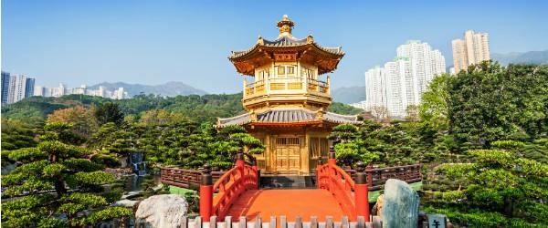 Pagoda at Nan Lian Garden, Chi Lin Nunnery, Hong Kong Featured (Shutterstock.com)