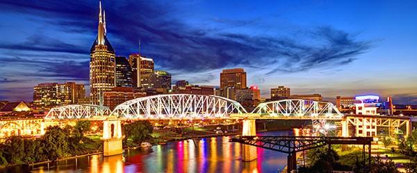 Skyline of Downtown Nashville Featured (Shutterstock.com)