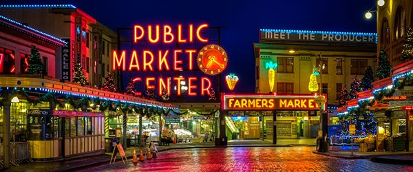Pike Place Market, Seattle Featured (Shutterstock.com)